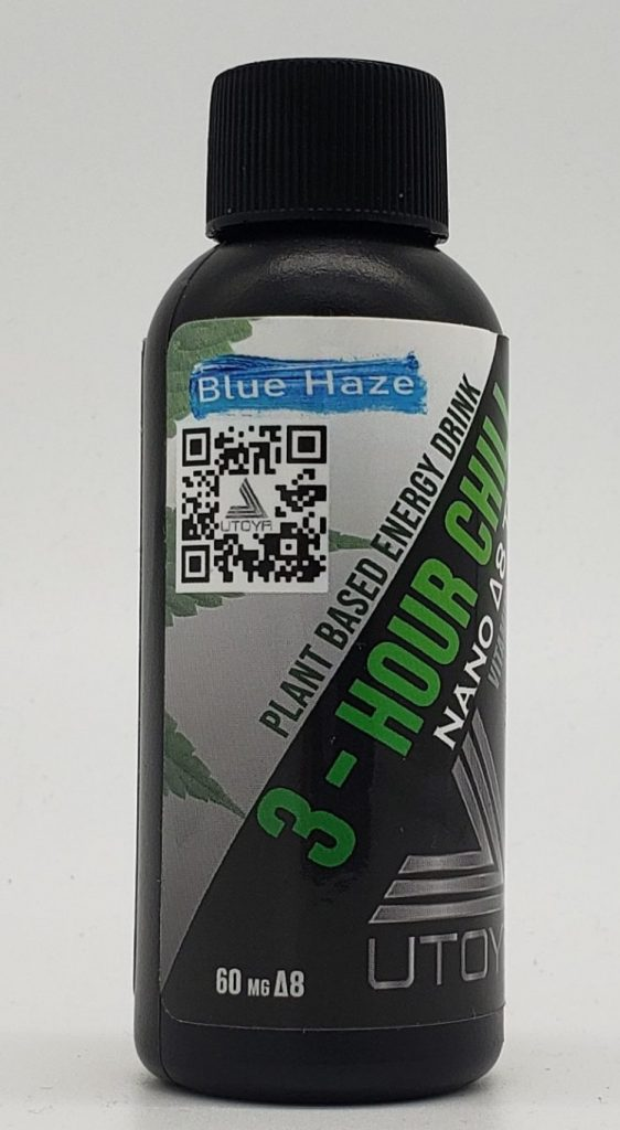 Blue Haze - 3 Hour Chill D8 Drink - Plant Based Energy